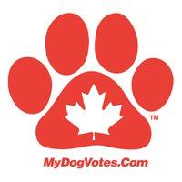 Mydogvotescanadian_paw_magnet